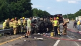 UPDATE: Crash scene cleared, all lanes opened on I-81 after crash