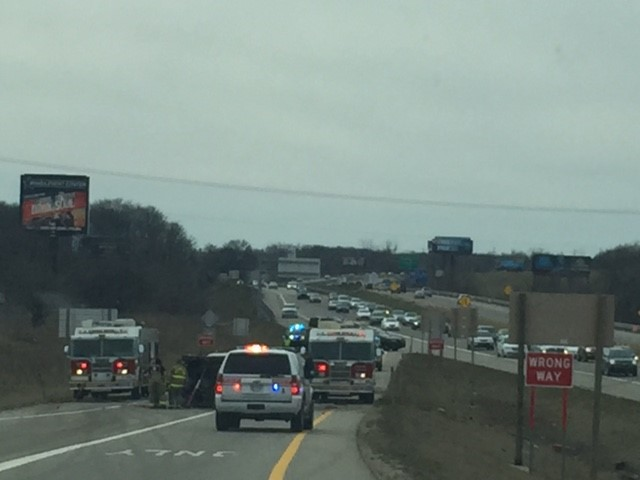The Michigan Department of Transportation is reporting eastbound Interstate 94 is closed at Sprinkle Road Exit 80 due to a crash. (Nicky Zizaza/WWMT)