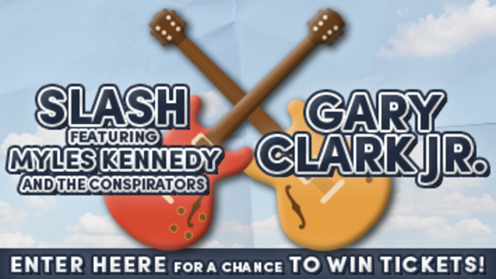 Slash featuring Myles Kennedy and the Conspirators and Gary Clark Jr. Ticket Giveaway