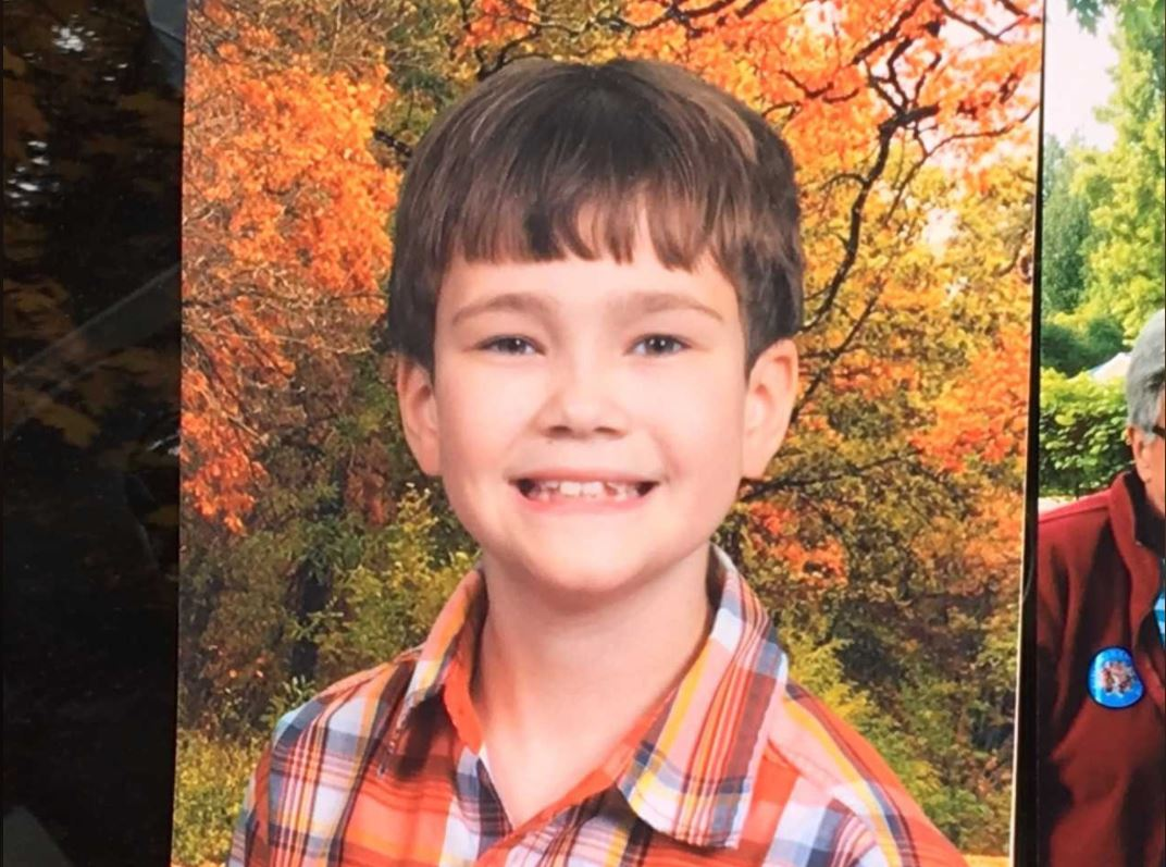 "Kitsap County Sheriff's detectives say a 9-year-old boy died from ""obvious homicidal violence"" at a home in a rural area near the Hood Canal town of Seabeck, Tuesday, Oct. 31, 2017. (Photo courtesy family member of the boy){&amp;nbsp;}<p></p>"