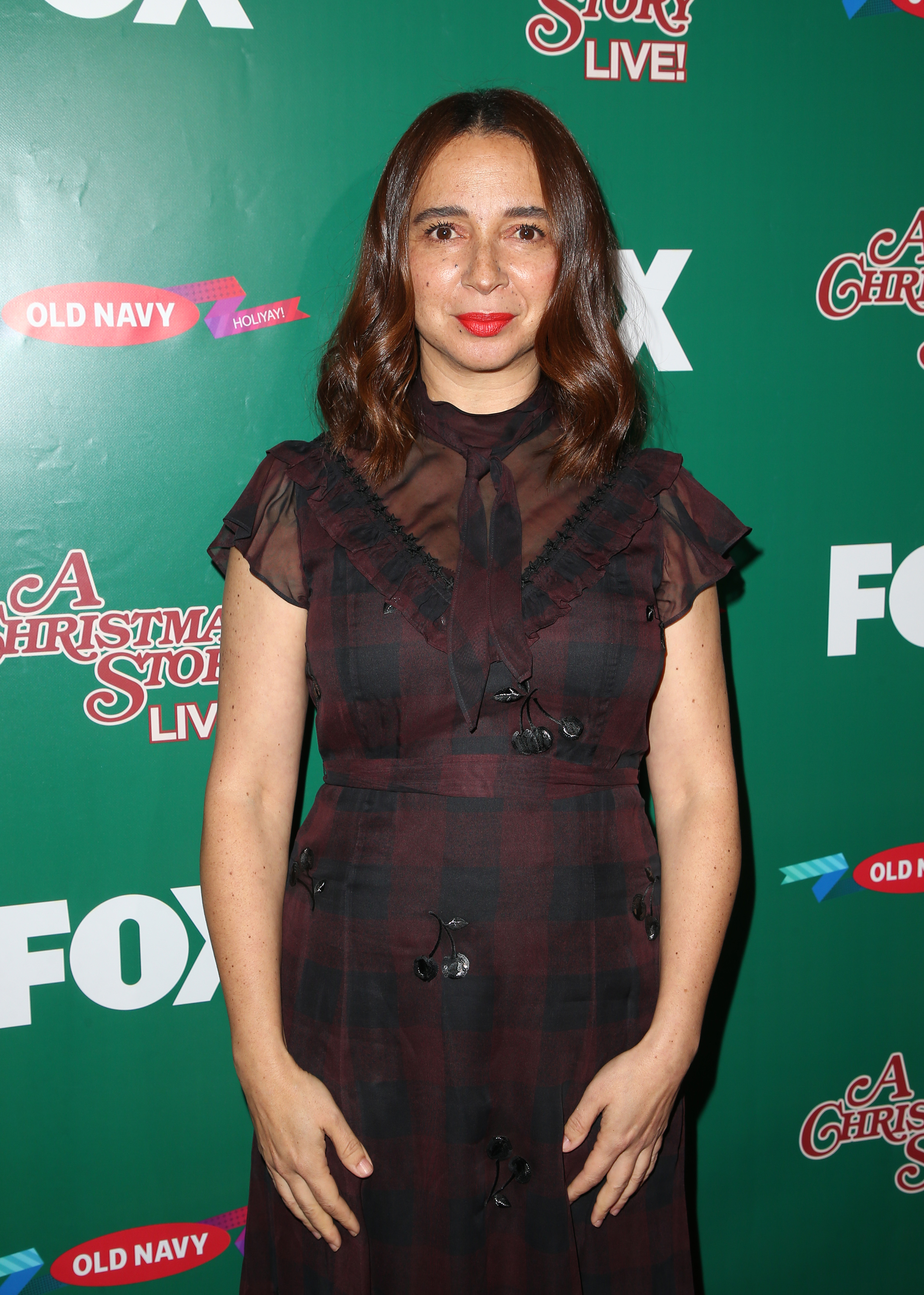 FOX's 'A Christmas Story Live!' Lighting Event                                    Featuring: Maya Rudolph                  Where: Los Angeles, California, United States                  When: 24 Nov 2017                  Credit: FayesVision/WENN.com