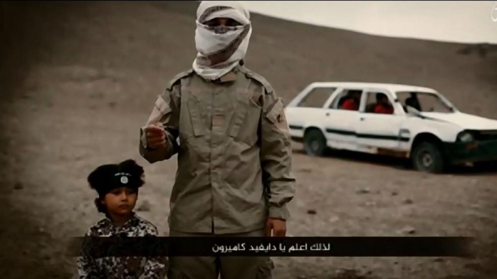 ISIS យក«ជនស្ម័គ្រប្រយុទ្ធ»អាយុ៤ឆ្នាំ ឲ្យប្រហារជីវិតអ្នកទោស