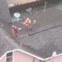 VIDEO: Coast Guard aircrew conducts rooftop rescue near Beaumont