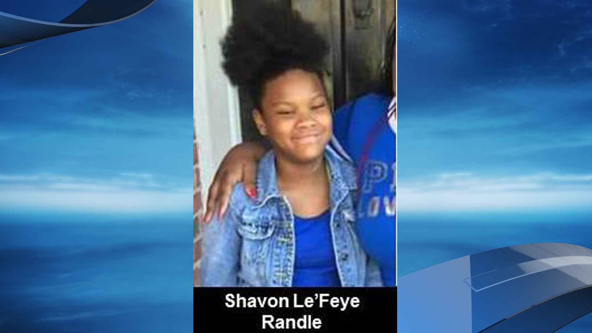 The Lancaster Police Department is searching for 13-year-old Shavon Le'Feye Randle. She was last seen Wednesday at 10 a.m. in Lancaster. (Photo courtesy: Lancaster Police Department)