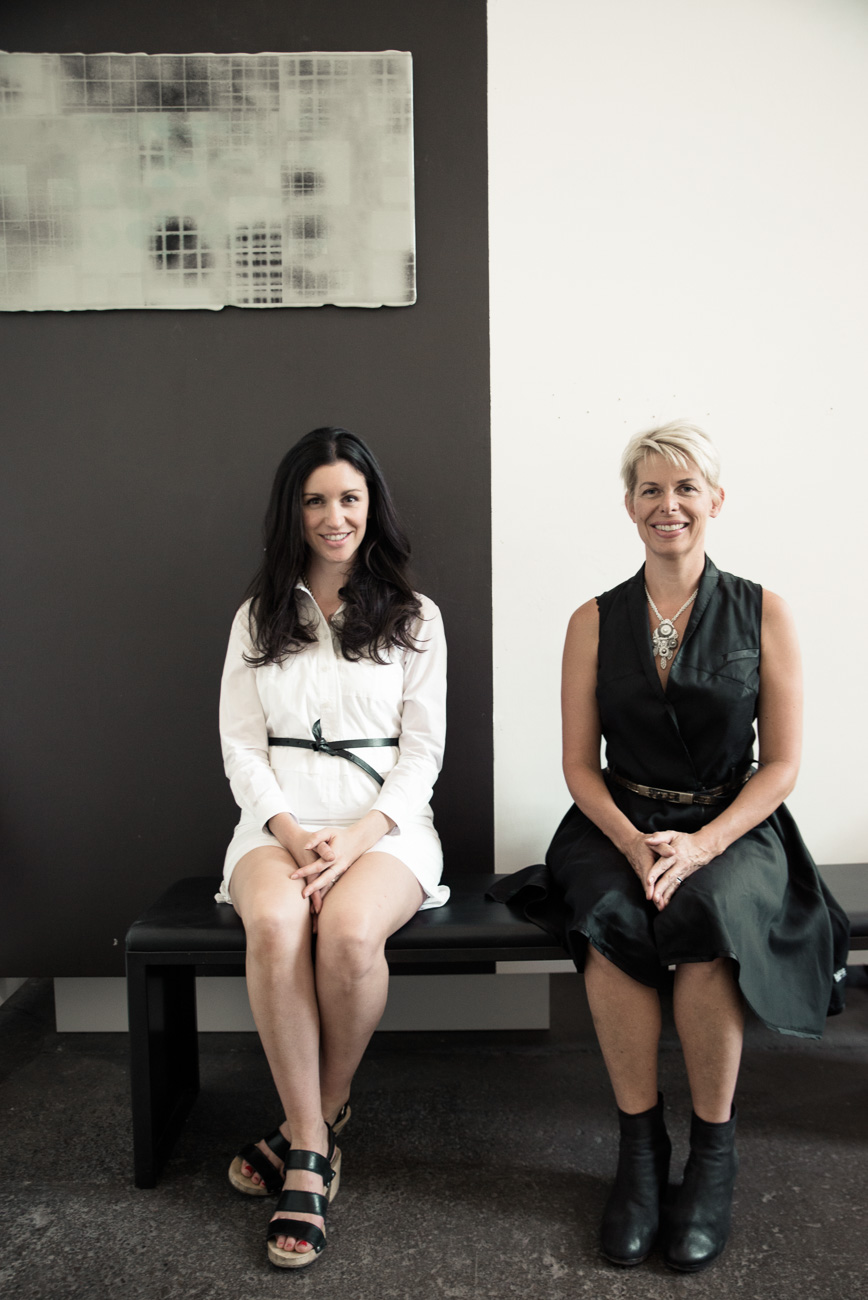 Sandra Gross (owner) and Leah Busch Rockel (director) / Image: Merrilee Luke-Ebbeler // Published: 10.10.20