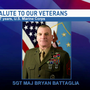 Saluting our veterans: Sgt. Major Bryan Battaglia