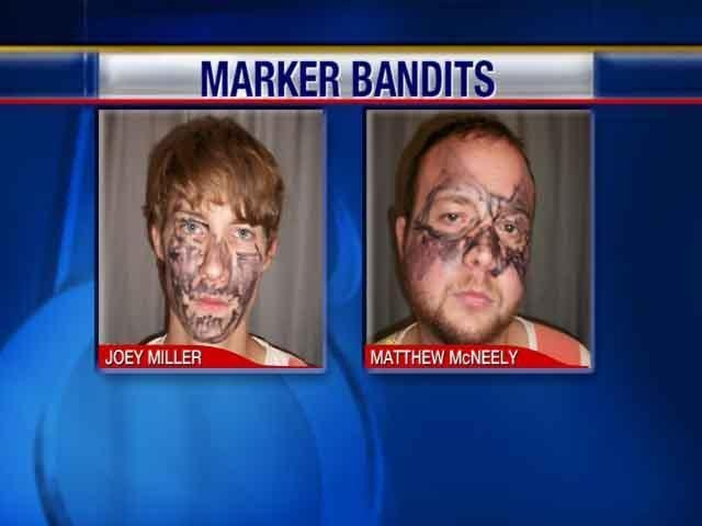 Marker Bandits From KCCI For Mug Shot Slideshow