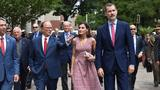 King and Queen of Spain continue San Antonio tour ahead of meeting with Trump