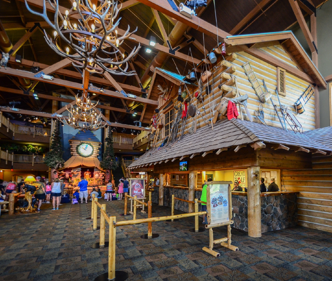 In need of a staycation for the kids? Look no further than Great Wolf Lodge Resort. Located in Mason, this resort offers a myriad of attractions, including an indoor water park. Cannonball! / ADDRESS: 2501 Great Wolf Dr. Mason, OH 45040 // IMAGE: Sherry Lachelle Photography