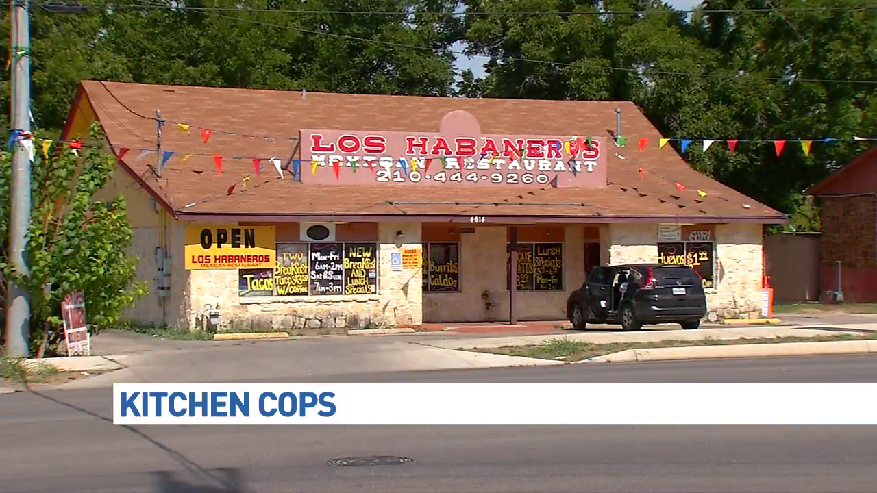 Mexican Restaurant Kitchen Equipment kitchen cops: dirty equipment, dusty shelves | woai