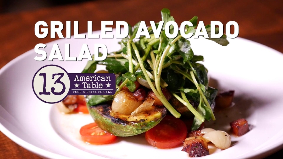 13 american table 39 s grilled avocado salad wpec - American history x dinner table scene ...