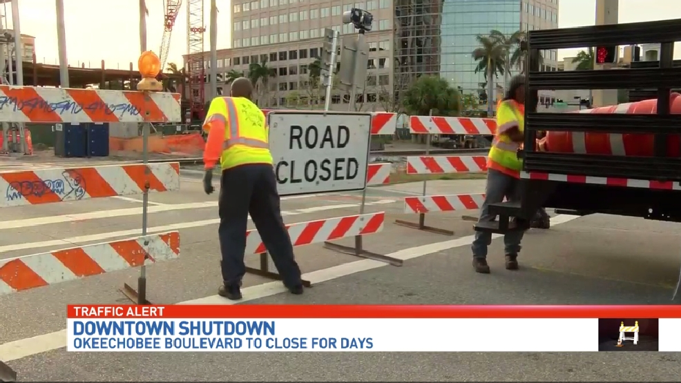 Okeechobee Blvd closure frustrates drivers | WPEC