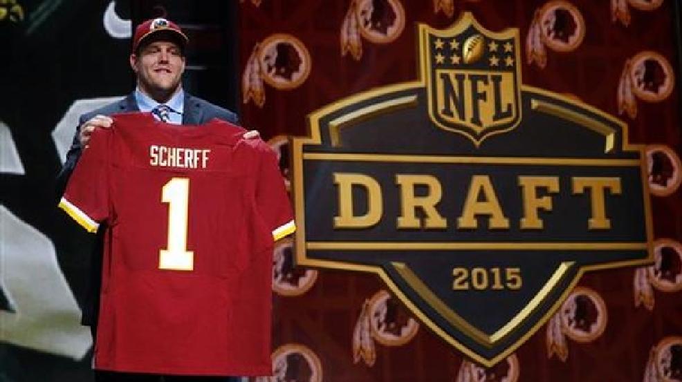 Redskins take OL Brandon Scherff in 1st round of NFL draft  99c91315bb7