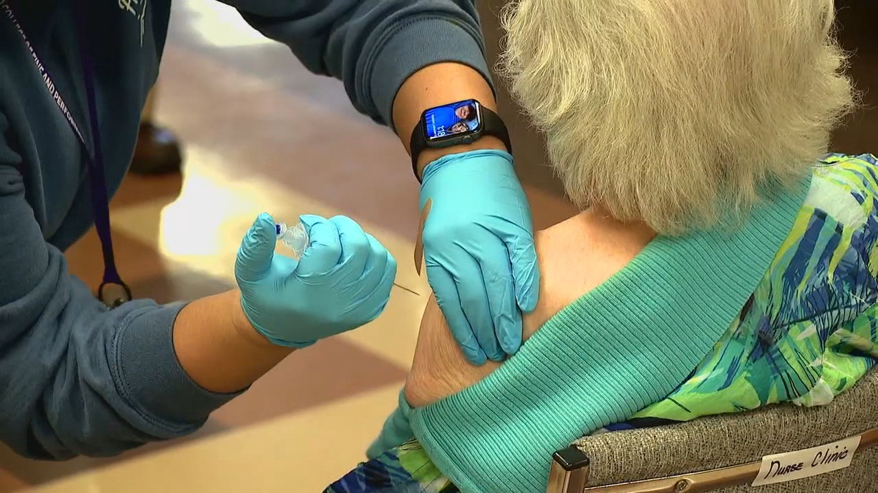 Haywood County leaders said its COVID-19 vaccination sign up system on Monday accidently included about 150 people who were not over the age of 75. (Photo credit: WLOS staff)