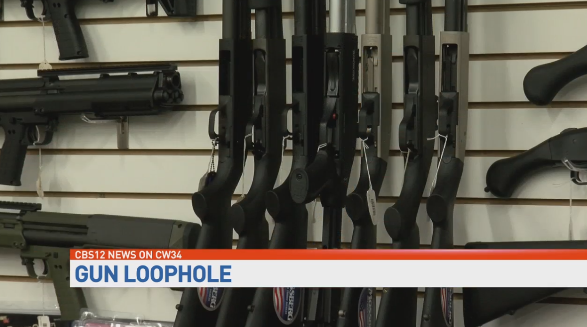 How a Florida loophole allows the wrong people to get guns. (WPEC)