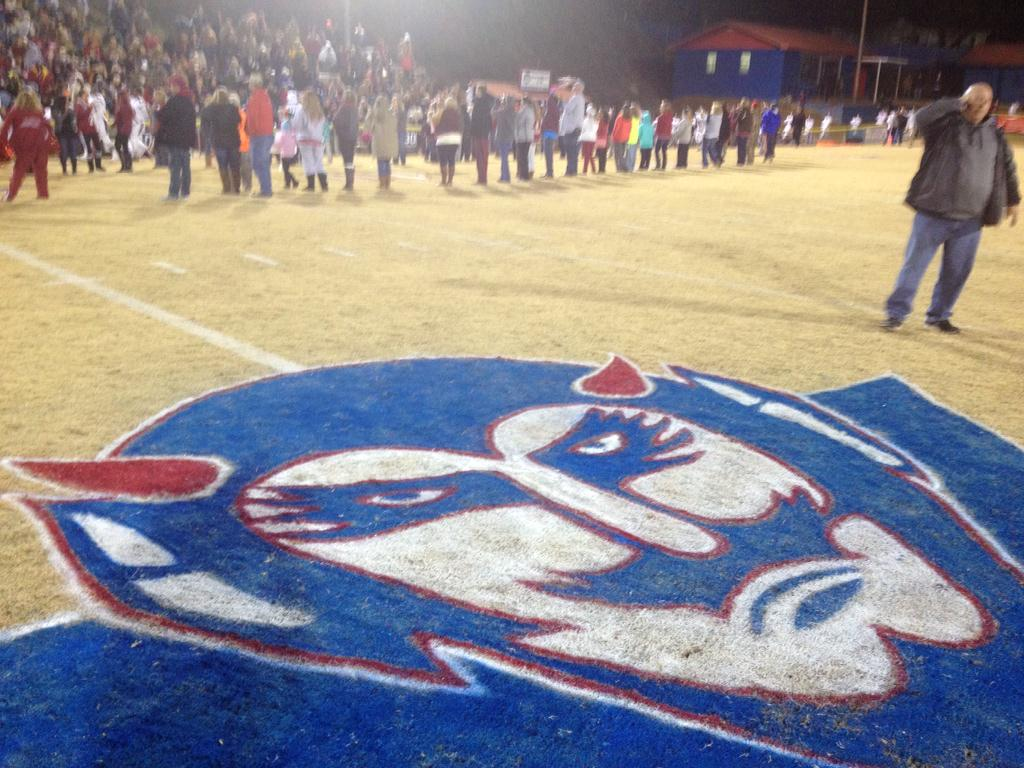 ABC 33/40 at Deshler vs. Cordova in the semifinals of the AHSAA Class 4A football playoffs, Friday, Nov. 28, 2014.