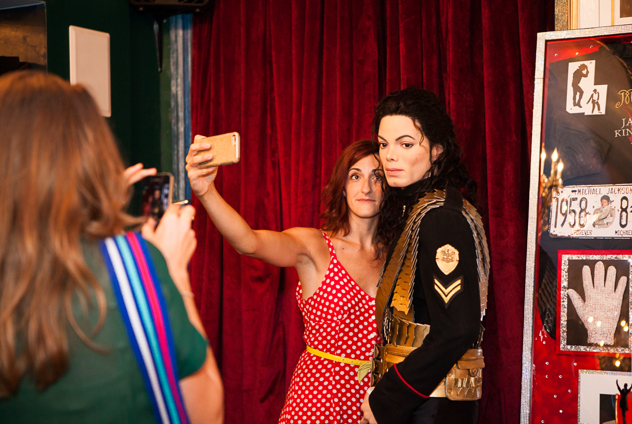 Snap a selfie with a celeb at Madame Tussauds Wax Museum. TICKETS: Start at $15.50 for DC locals. (Photo: Amanda Andrade-Rhoades/DC Refined)