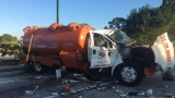 Septic Tank involved in accident that sends 4 to hospital