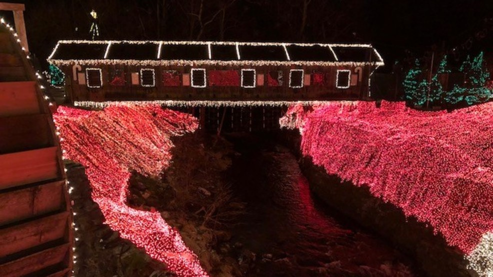 Clifton Mill Christmas Lights.Clifton Mill Christmas Lights Are Back And Brighter This