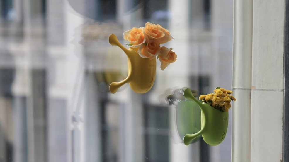 Photos quirky suction cup planters let you grow a garden for 12 x 72 window