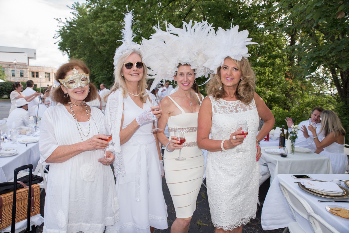 Joan Baltarshanski, Carol Spatz, Debra Baltarshanski, and Danuta Connell / Image: Sherry Lachelle Photography