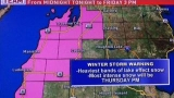 Numerous counties under weather advisories or warnings