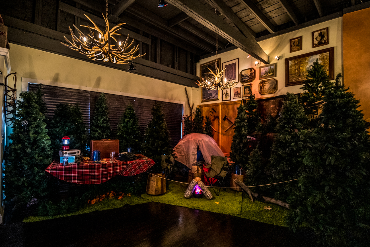 The Lonely Pine Steakhouse and The Overlook Lodge (Gorilla Cinema establishments and next-door neighbors) are both offering specially themed to-go goods. The Lonely Pine has an assortment of savory cooking kits that feed two to four people with ingredients made in-house and locally sourced. Overlook Lodge has temporarily turned into Camp Overlook—a horror movie survival bar with to-go cocktails, trail mixes, assorted candies, and s'mores kits. They make for the perfect provisions to enjoy at home while camping or watching scary flicks. / Image: Catherine Viox // Published: 6.2.20