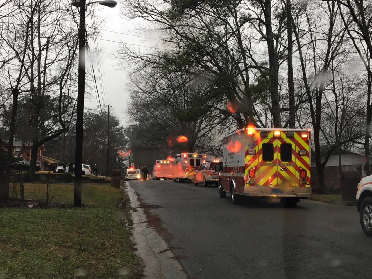 <p>Center Point Fire &amp;amp; Rescue with assistance from Birmingham Fire &amp;amp; Rescue are battling a structure fire in the area of Kim Drive and Polly Reed Road in Center Point.</p>