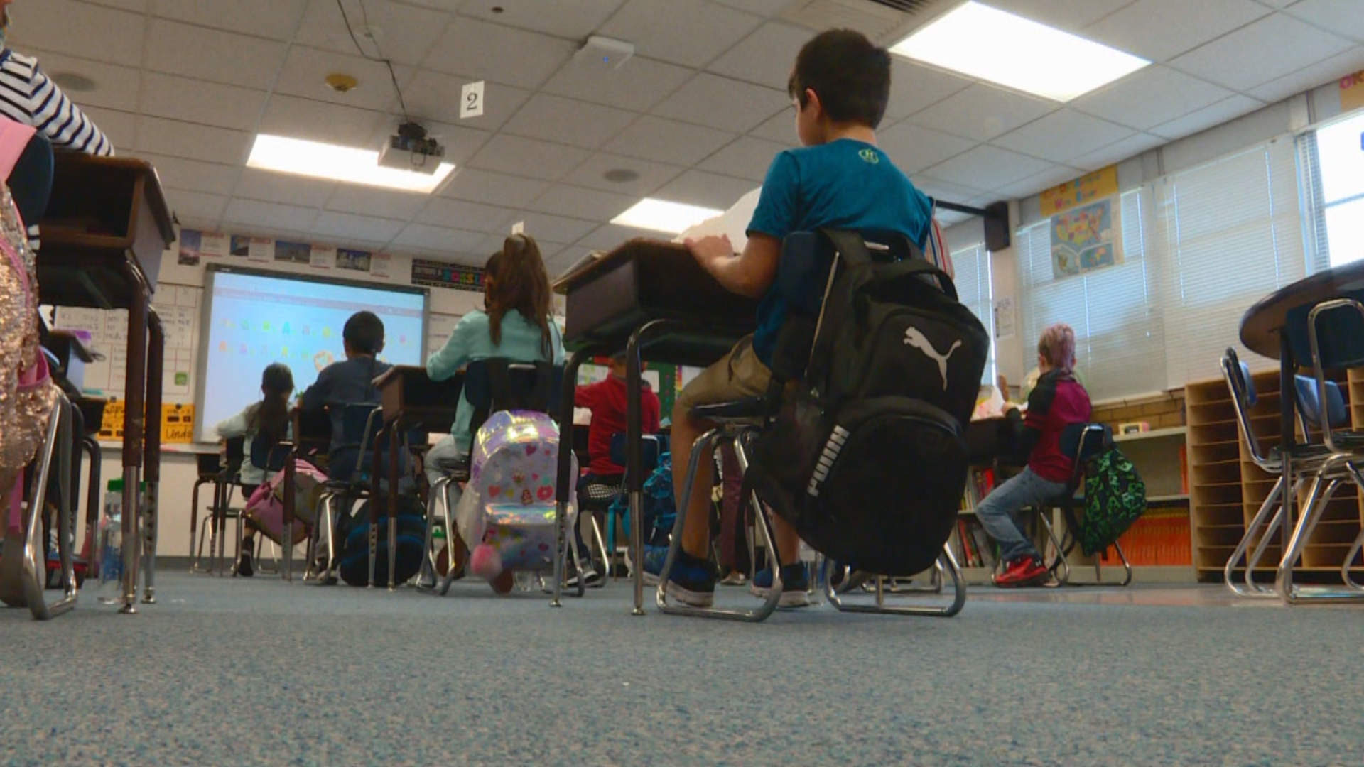 At Lincoln Elementary in South Salt Lake, 27 different languages are spoken in the halls. (KUTV)