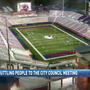 U. South Alabama shuttling stadium supporters to Mobile city council meeting