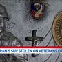 Disabled Gresham veteran's SUV stolen on Veterans Day