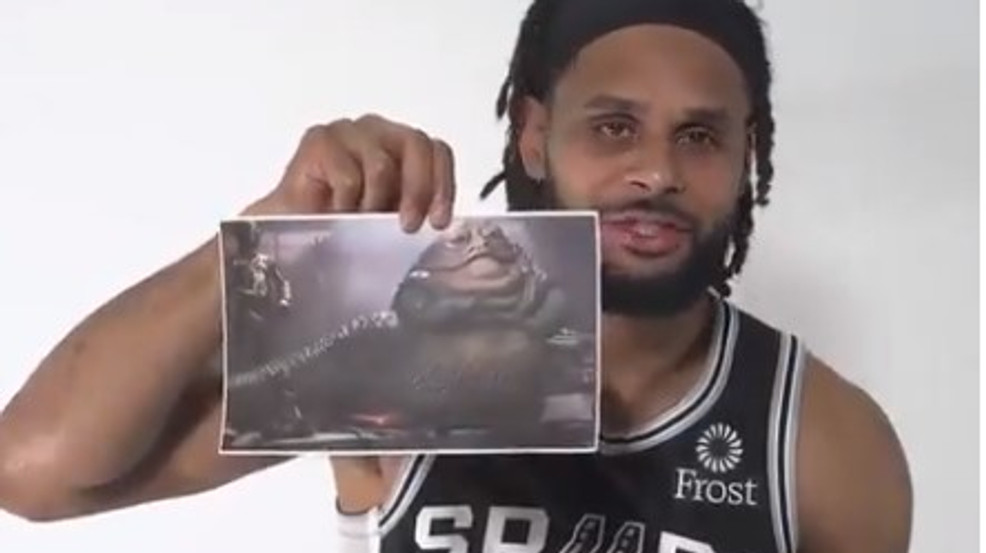 WATCH: Spurs players cannot name notable Star Wars characters