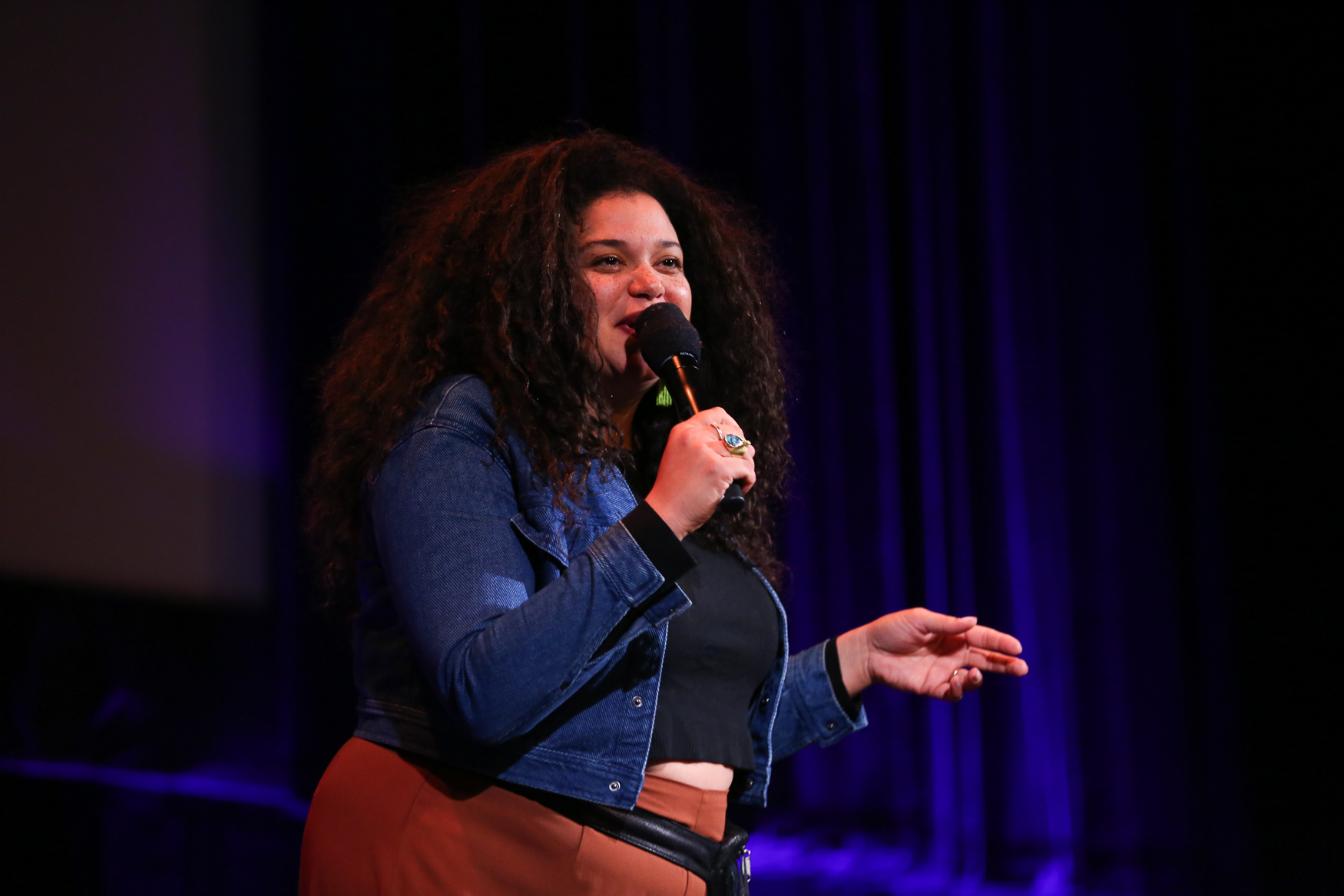 Michelle Buteau{ }performed at The Bentzen Ball on October 28. (Amanda Andrade-Rhoades/DC Refined)