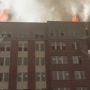 Officials: 3-alarm fire breaks out on 5th floor of Md. apt building near UMD