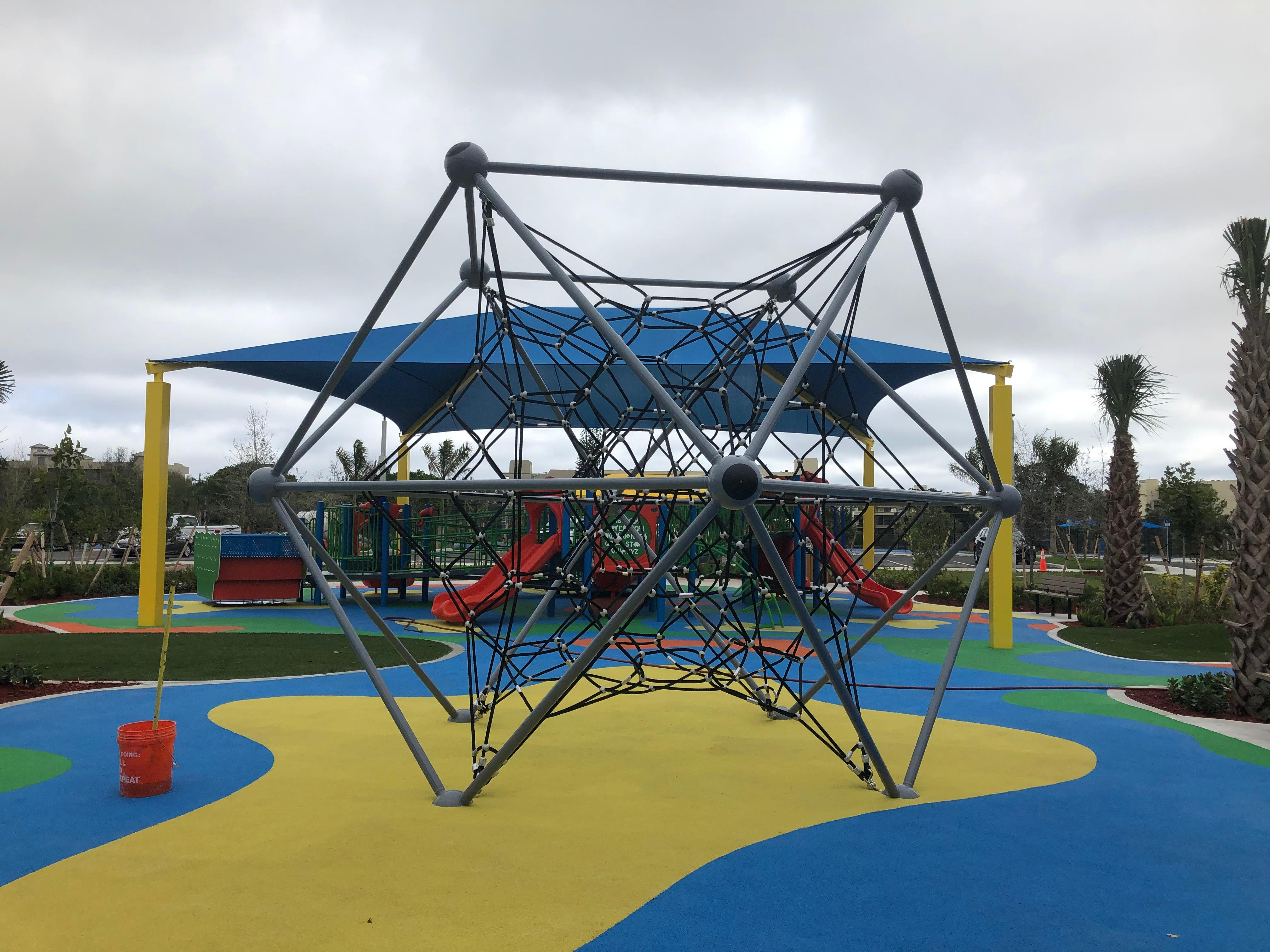 The City of Boca Raton is preparing to unveil a new multimillion-dollar park on Saturday. (WPEC)<p></p>