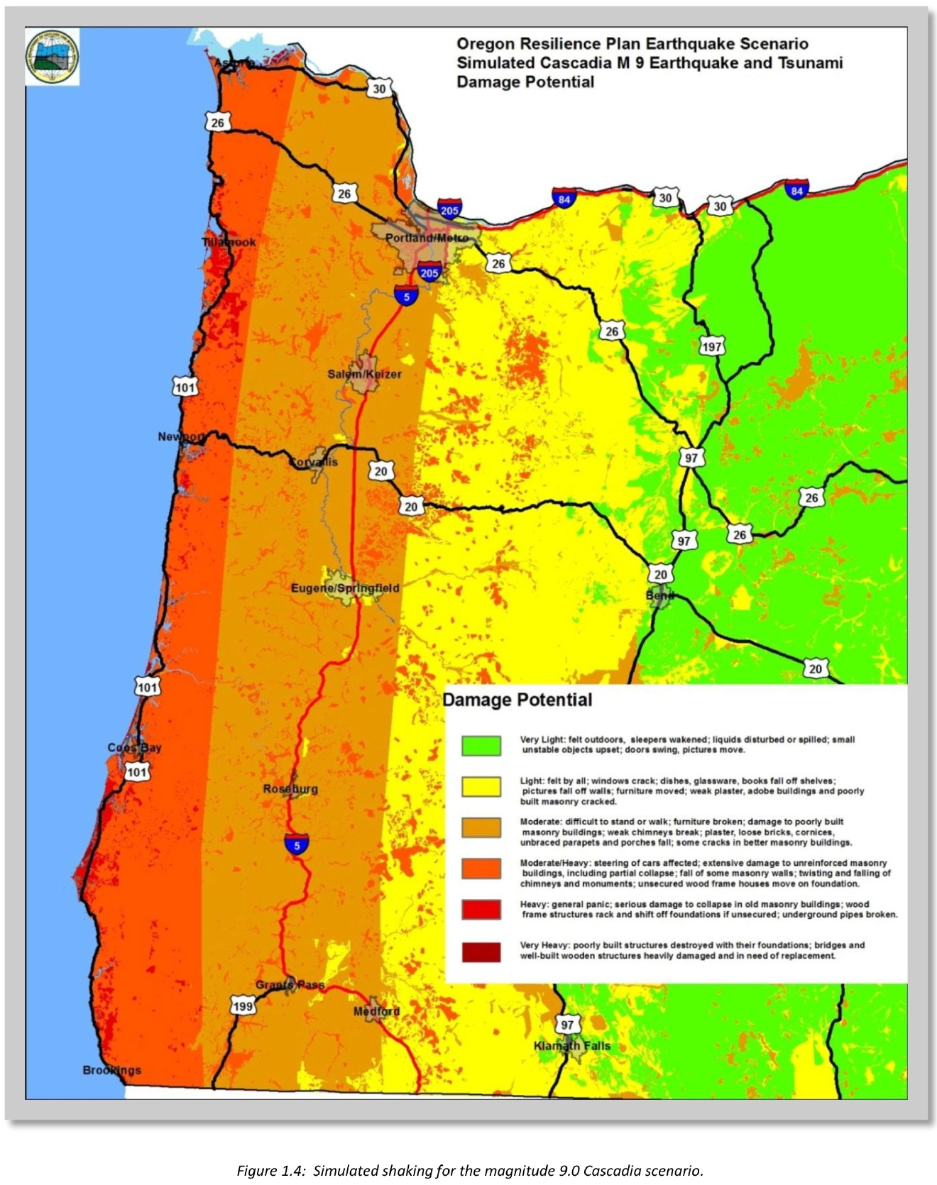From the 2013 Oregon Resilience Plan