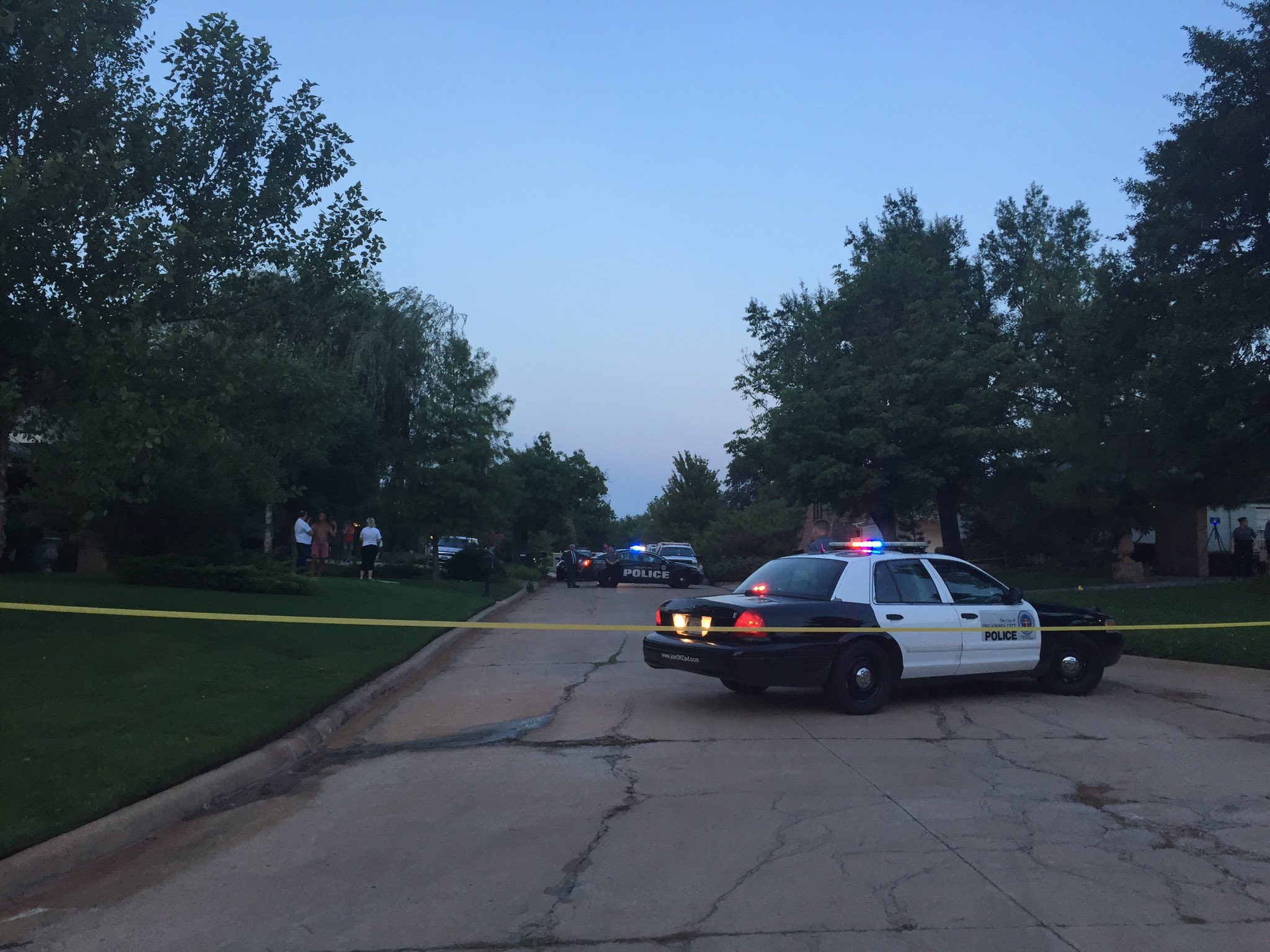Oklahoma City Police confirm this is a homicide with one victim. But would not say much beyond that. (Jordann Lucero / KOKH)