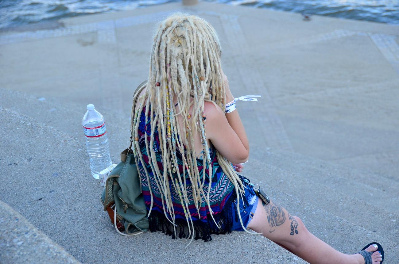 Now those are some next-level dreads / Image: Leah Zipperstein, Cincinnati Refined // Published: 6.3.17