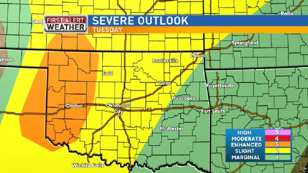Mike's Weather Blog: Severe storms possible this week