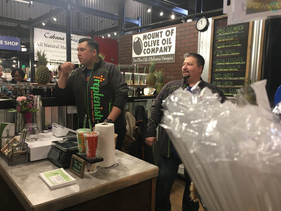 The newest vendor to hit city market had their grand opening Thursday in Bay City. (Photo Credit: Courtney Wheaton){ }