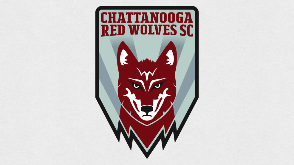 Chattanooga Red Wolves SC Crest - Chattanooga Red Wolves.png