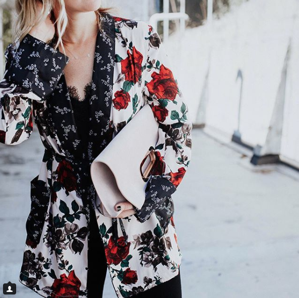 Remember how we said we are in love with the kimono/robe trend? This was the beaut that started the whole obsession, and you can bet we hit purchase the minute we saw it! (Image: Courtesy IG user @megbiram/{&amp;nbsp;}www.instagram.com/megbiram/){&amp;nbsp;}<p></p>