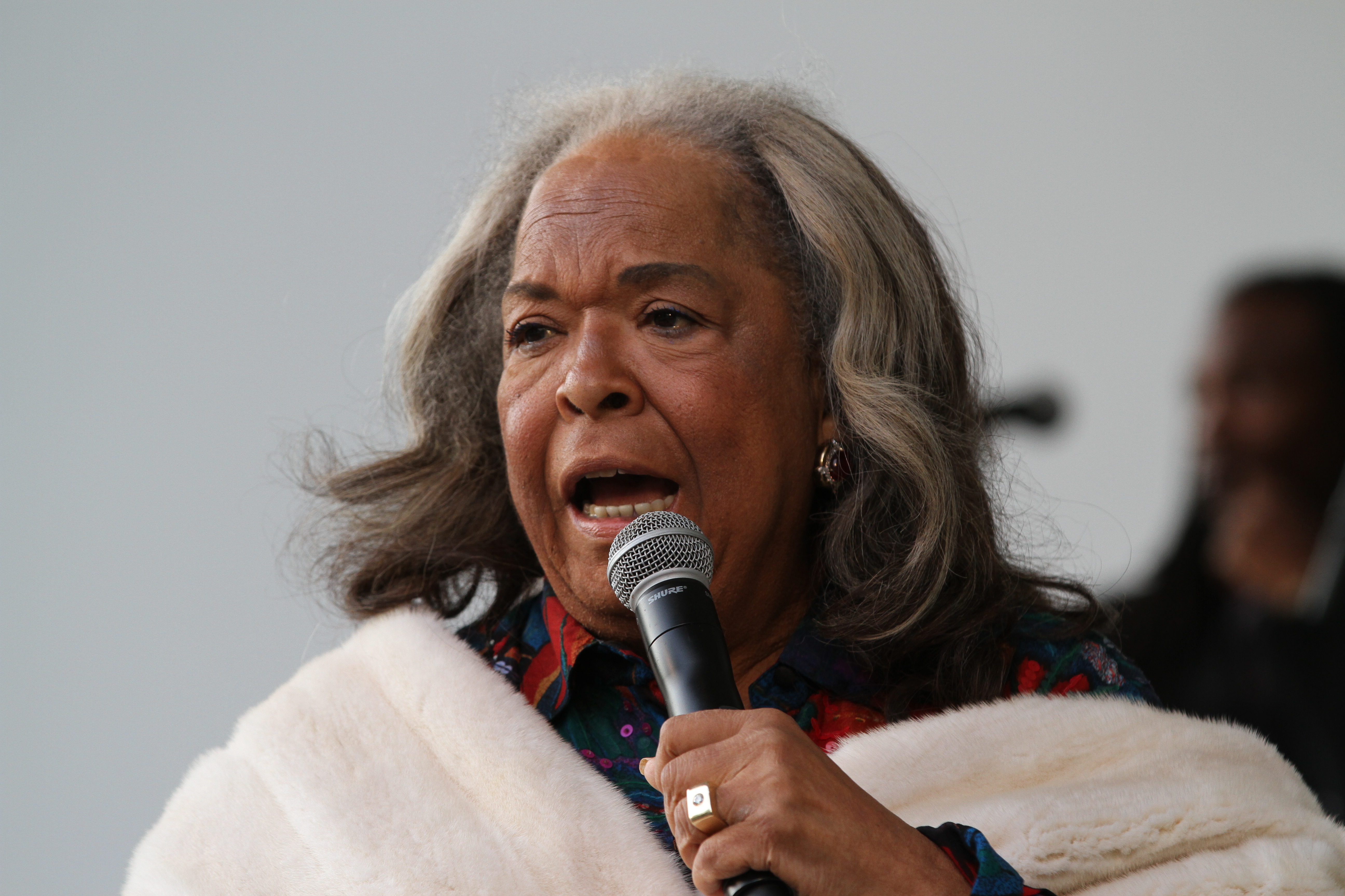 Della Reese at Make a Joyful Noise: A Tribute to Mahalia Jackson at the Central Park SummerStage on Jun. 22, 2013. (Derrick Salters/WENN.com)<p></p>