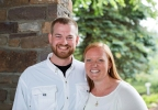 This undated photo provided by Samaritan's Purse shows Dr. Kent Brantly and his wife, Amber. (AP Photo/Samaritan's Purse)