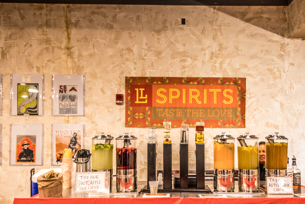 Braxton Brewing and LL Spirits have a pop-up bar area. / Image: Catherine Viox // Published: 12.12.19