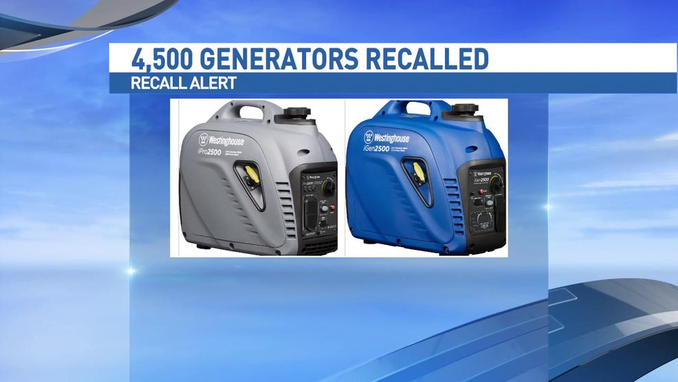Portable generators recalled over fire hazard | WOAI
