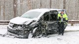 Snowy commute leads to minor crashes, spinouts