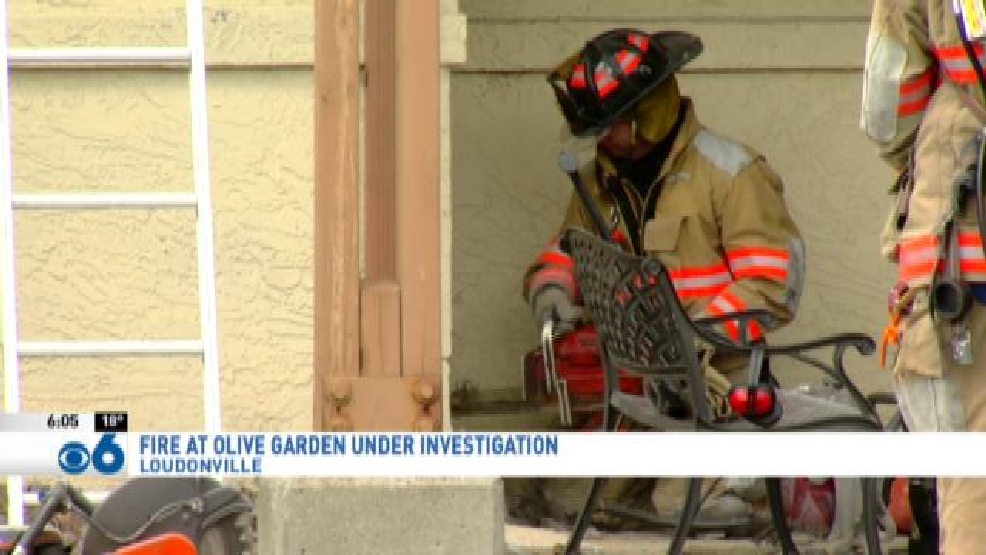 fire at wolf road olive garden under investigation wrgb - Olive Garden Victor Ny
