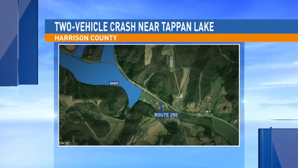 Two-vehicle accident near Tappan Lake stalls traffic on