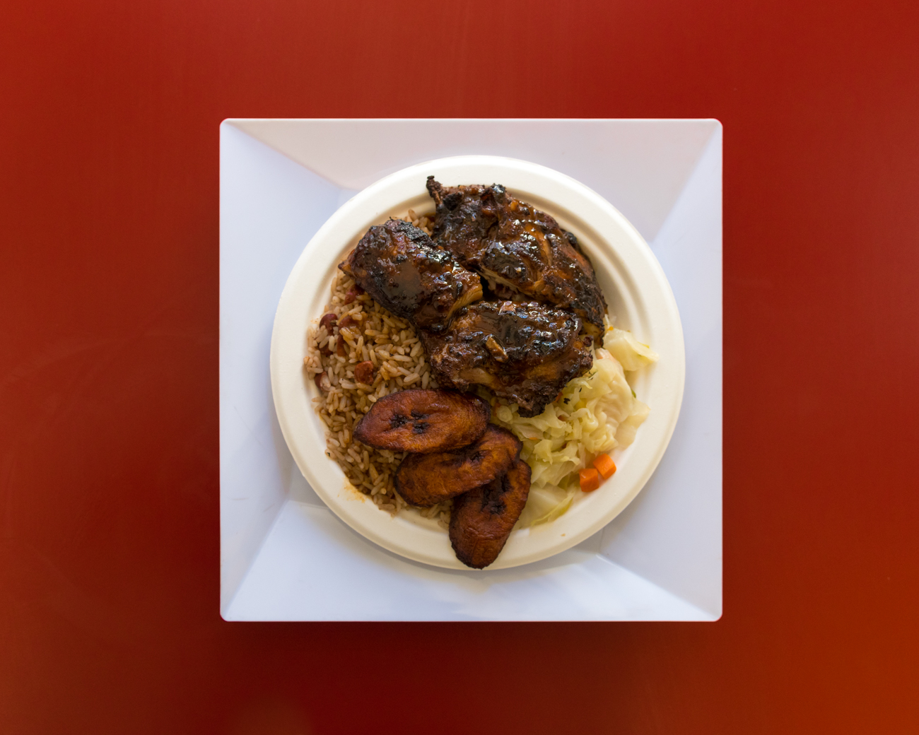 Jerk Chicken from Island Fridays / Image: Phil Armstrong, Cincinnati Refined // Published: 3.14.17